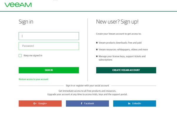 Veeam Download