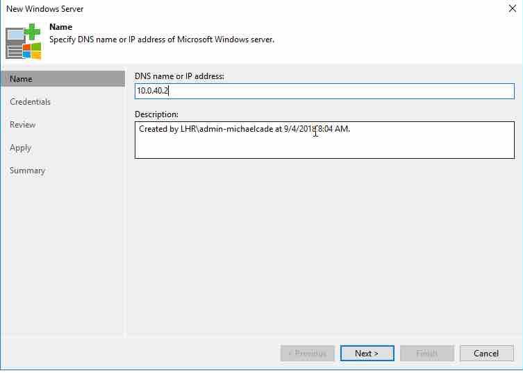 Veeam Backup & Replication – File Copy Job | vZilla