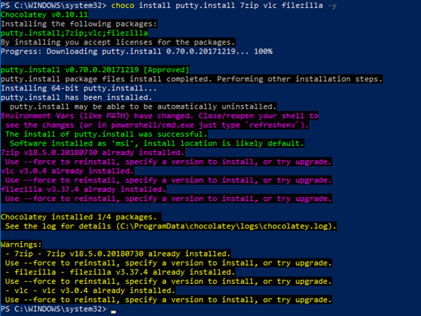 Windows Operations, Introducing Chocolatey for Windows Package