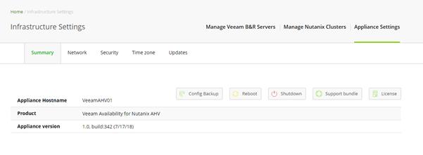 Configuring your Veeam Availability for Nutanix AHV | vZilla